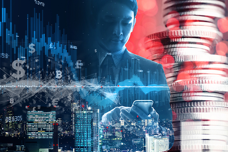 Working professional in the financial technology industry
