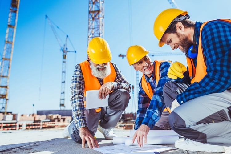 OSHA professionals working on construction jobsite