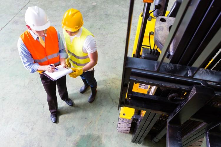 OSHA professionals on job site