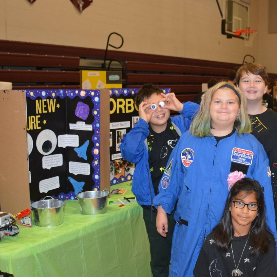 Students Get Creative During FIRST Lego Robotics Competition image